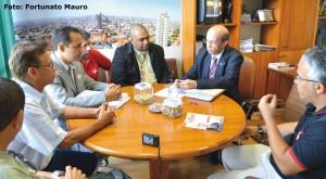 Relator do PL 6.613/09 recebe os estudos de impactos orçamentários e financeiros realizados pelos sindicatos do Rio, Minas, Campinas e Pará