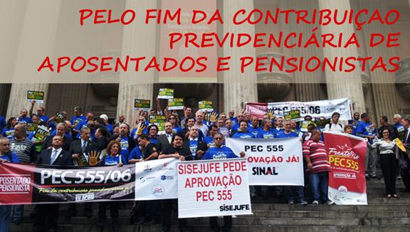 Parlamentares e aposentados defendem a aprovação da PEC 555 em audiência