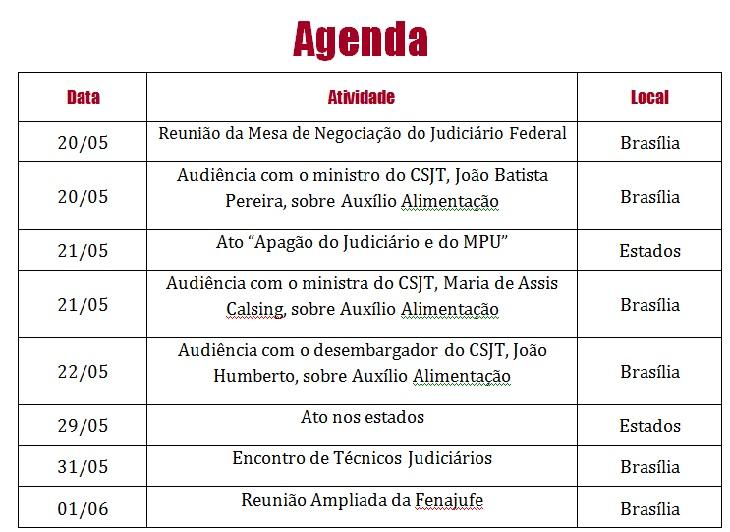 agenda-maio-fenajufe