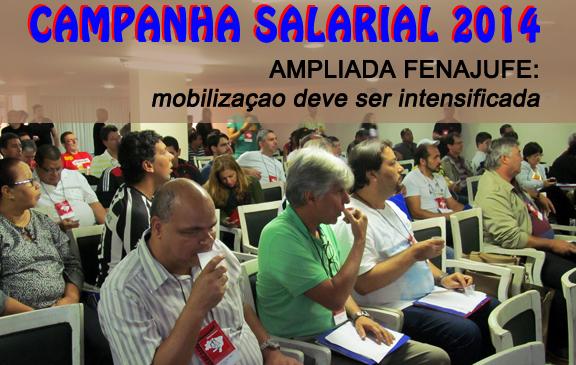 Ampliada Fenajufe aprova calendário de mobilização