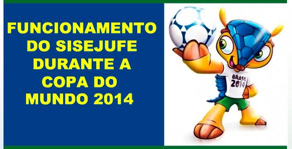 Confira os horários de funcionamento do Sisejufe durante a Copa do Mundo