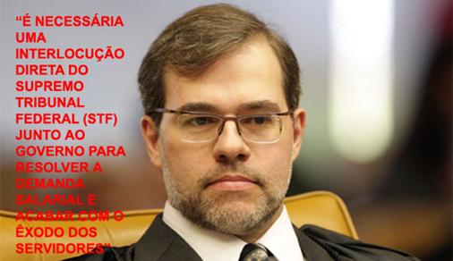 Fenajufe se reúne com presidente do TSE, Dias Toffoli, pelo PL 6.613/09