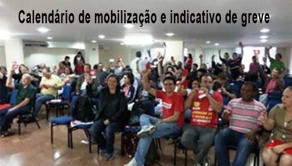 Ampliada da Fenajufe aprova calendário de mobilização com indicativo de greve para 14 de agosto