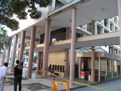 Sisejufe contrata equipe de perícia para avaliar estrutura dos prédios do Foro da Venezuela