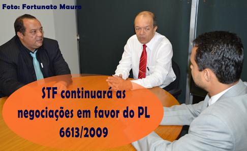 Diretor-geral do STF recebe Sisejufe: determinação de negociação do PL 6.613/09 junto ao governo federal