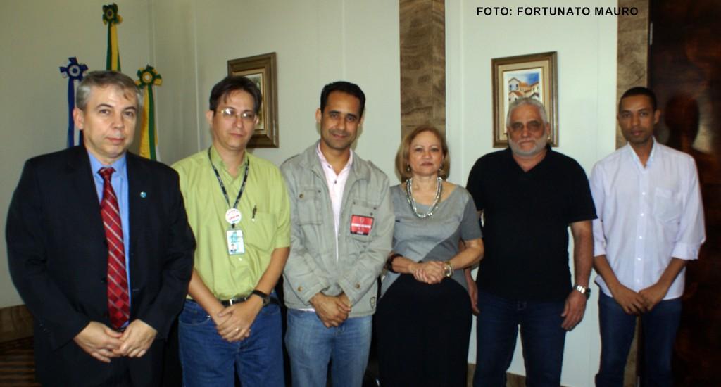 Diretores do Sisejufe se reúnem com a Presidência do TRT1