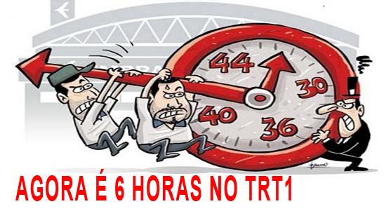 Requerimento do Sisejufe de adoção da jornada de 6 horas entra em pauta no TRT1