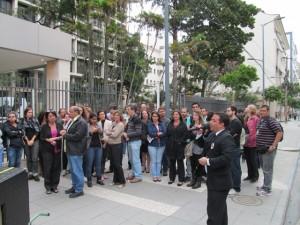 O diretor Mario César Pacheco cobrou da direção do Foro uma resposta às reivindicações dos servidores