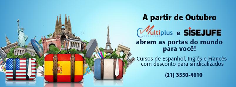 Sisejufe oferece cursos de Espanhol, Inglês e Francês