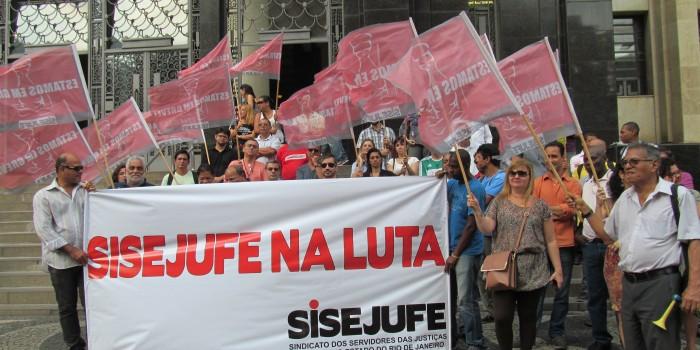 Servidores do Judiciário do Rio continuam na luta pela aprovação do PL 7.920