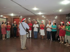 Apresentação na Justiça Federal Rio Branco