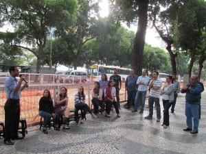 Servidores acompanham assembleia setorial na Justiça Federal Rio Branco