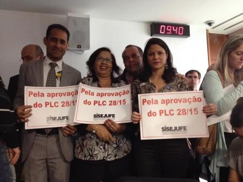 VITÓRIA – CCJ do Senado aprova por unanimidade PLC 28, que segue em regime de urgência para o plenário