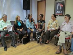 Vera Miranda, assessora política do Sisejufe, fala sobre as negociações pela aprovação do PLC 28