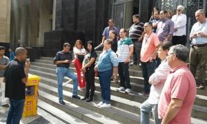 Servidores do TRT Antonio Carlos recebm informes sobre o Calendário de Mobilização pela aprovação do PLC 28
