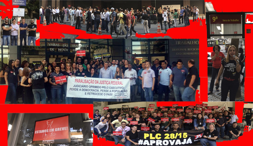 Mande fotos, informações e adesões à greve pelo WhatsApp do Sisejufe