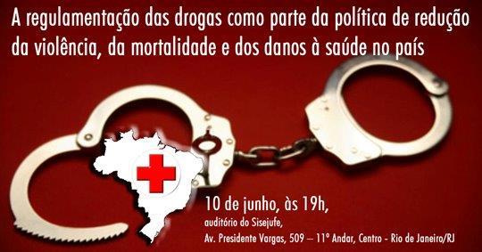 Sisejufe promove palestra sobre a legalização das drogas