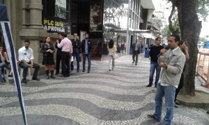 Valter Nogueira, presidente do Sisejufe, convoca servidores para a paralisação