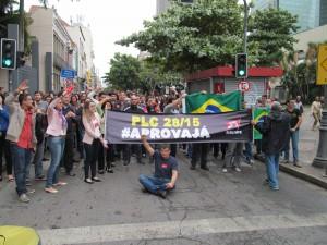Servidores do TRT Lavradio na luta