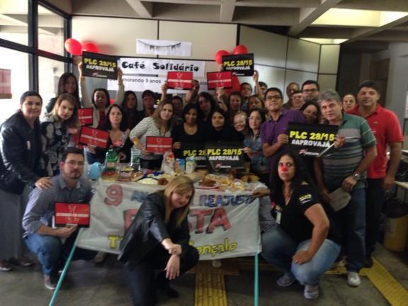 TRT de São Gonçalo mobiliza servidores com greve solidária e lanche junino