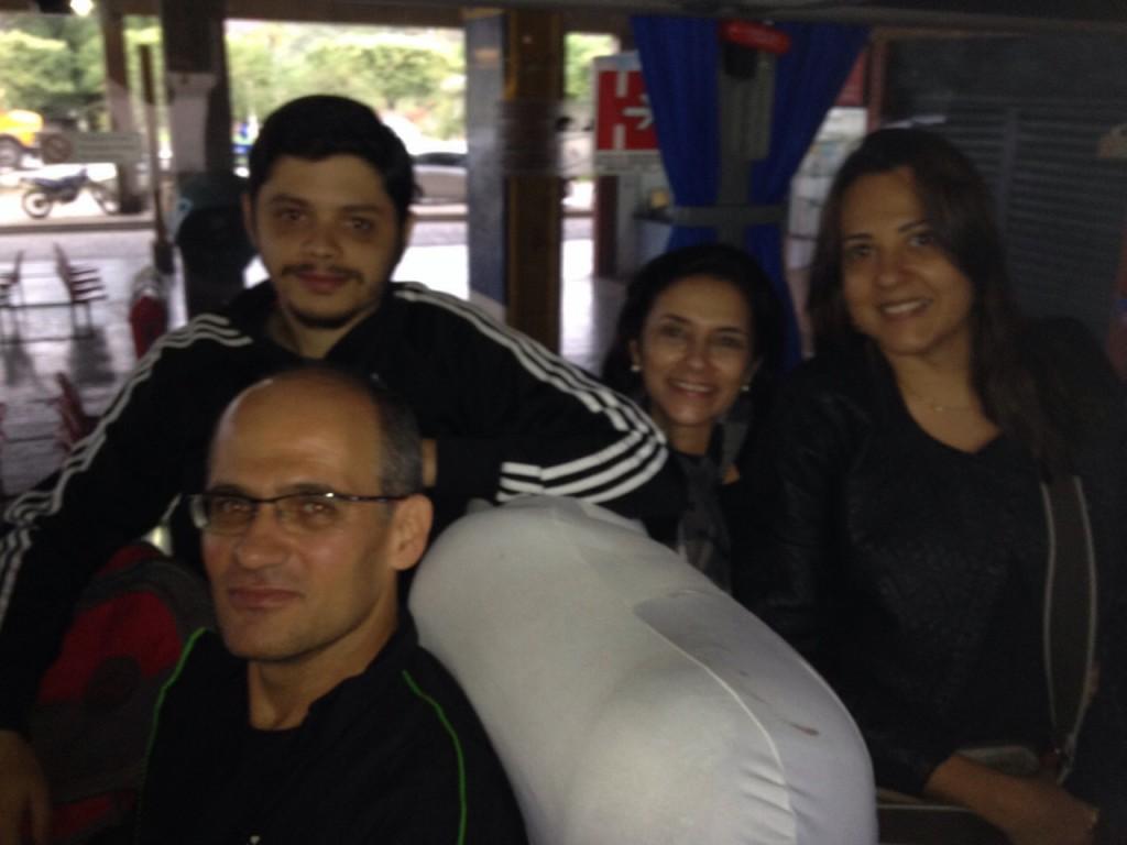 Servidores de Itaperuna também acordaram cedo para se juntar aos colegas da capital
