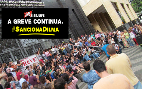 No TRT1 a intensificação da greve é a palavra de ordem