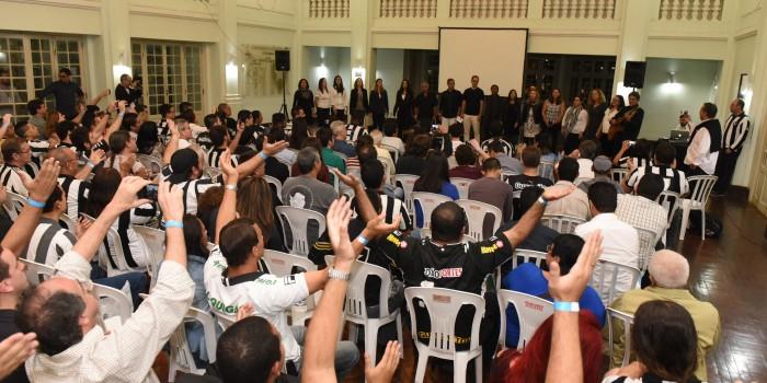 Coral do Sisejufe emociona no clube Botafogo