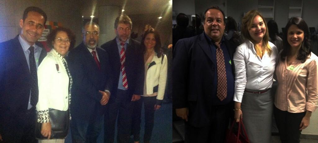Diretores do Sisejufe comemoram a vitória. Agora, segundo eles, a luta e a grve continua para pressionar Dilma a sancionar