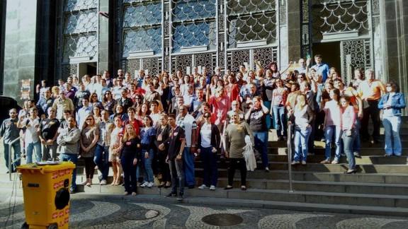 Apagão na sede do TRT-RJ marca o primeiro mês da greve dos servidores do Judiciário Federal