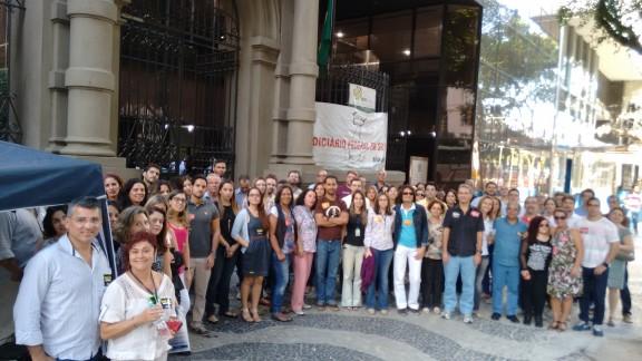 'Arrastão' mobiliza servidores da Justiça Federal Rio Branco
