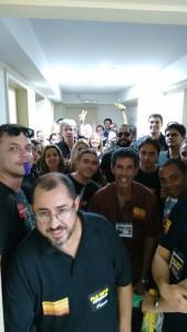 Servidores fazem arrastão no prédio da Justiça do Trabalho de Volta Redonda