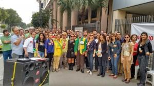 Servidores na atividade da JF Venezuela