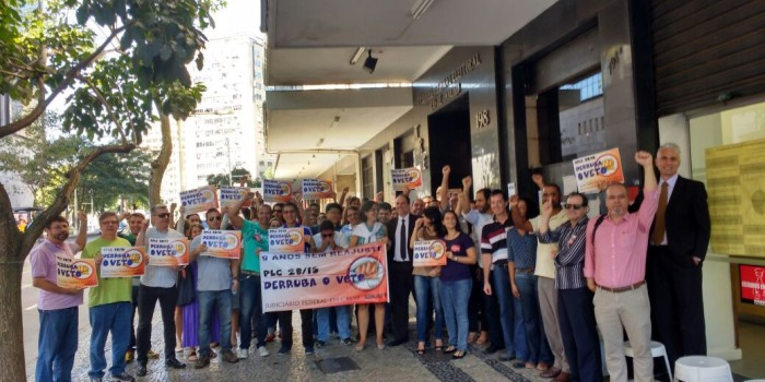 Assessoria jurídica do Sisejufe faz palestra sobre direito de greve a servidores do TRE