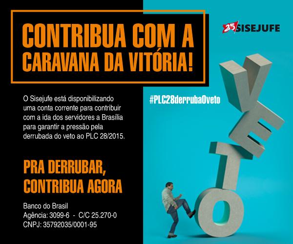 Contribua com a nova caravana a Brasília