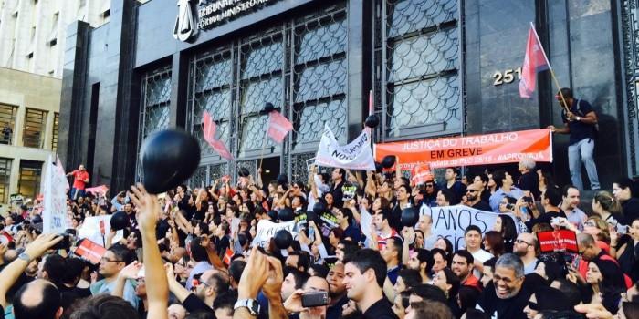 Todos na sede do TRT-RJ para protestar contra o Ato 74, nesta quinta, 6, às 9h