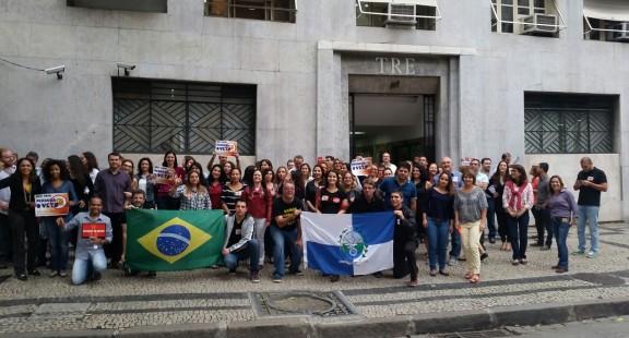 Servidores do Rio de Janeiro se mantém mobilizados