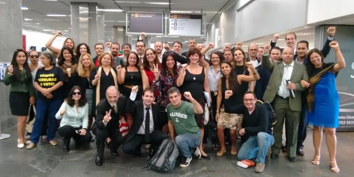 Tudo pronto para a nova Caravana que vai lutar pela derrubada do veto em Brasília