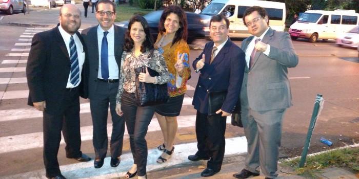Caravana da Vitória articula apoio de parlamentares na véspera da sessão conjunta do Congresso