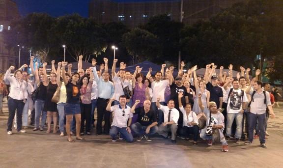 Servidores do Rio decidem manter greve até o dia 30, data marcada para análise do veto 26