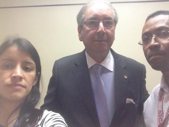 Sisejufe busca apoio do presidente da Câmara, Eduardo Cunha