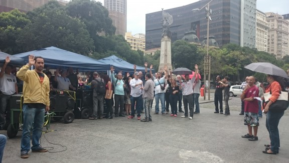 Categoria do Judiciário Federal no Rio de Janeiro aprova manutenção da greve em assembleia-geral