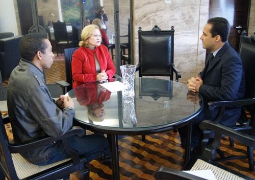 Sisejufe conversa sobre a situação da categoria com a presidente do TRT