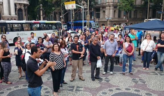 Servidores do Rio de Janeiro concentram todos os esforços na derrubada do veto