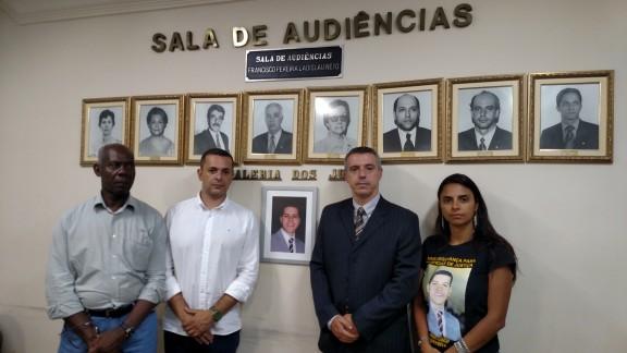 Emoção marca cerimônia em homenagem ao primeiro ano da morte de Francisco Pereira Ladislau Neto