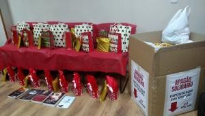 O DAP recolheu donativos para os desabrigados da tragédia de Mariana (MG)