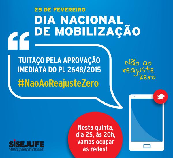 #NaoAoReajusteZero: Servidores do Rio promovem tuitaço e atividades nos prédios nesta quinta