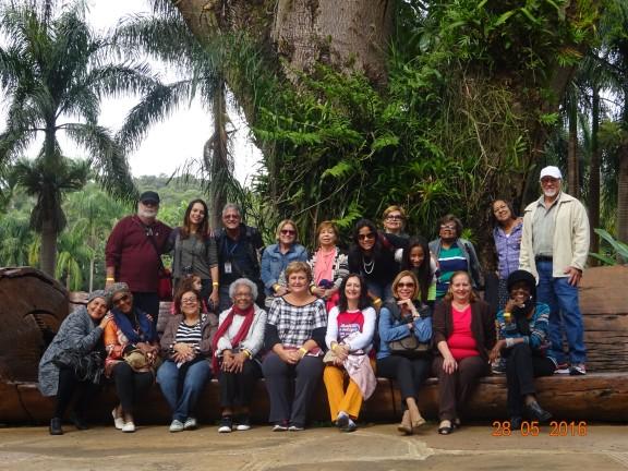 Aposentados do SISEJUFE visitam Inhotim, Minas Gerais