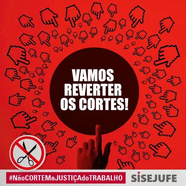Sisejufe repudia decisão do STF que mantem cortes na Justiça do Trabalho