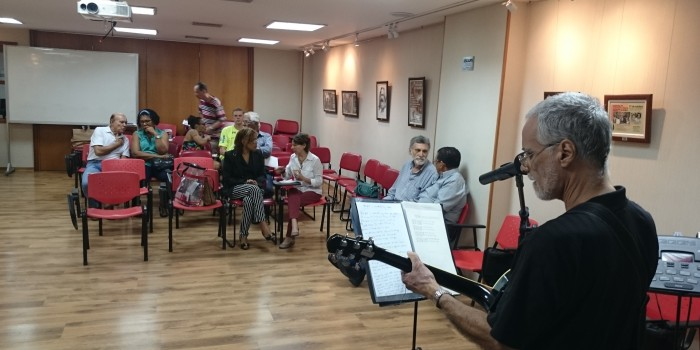 Cancioneiro nacional embala Sarau do DAP