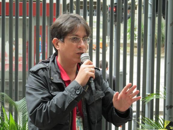 Ato no TRT da Lavradio marca Dia Nacional de Mobilização